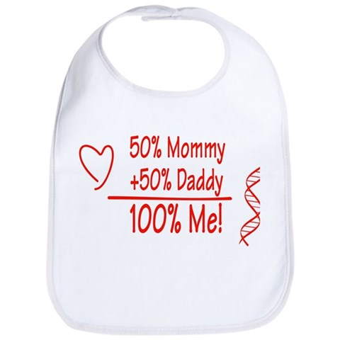 100  Me  Family Bib by CafePress