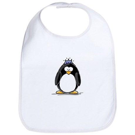 Princess penguin Bib
