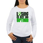 Losing Is Not An Option Lymphoma Shirts