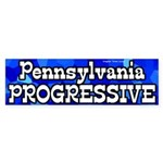 Pennsylvania Progressive bumper sticker