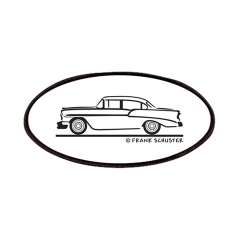 1956 Chevy Sedan 210  Hobbies Patches by CafePress