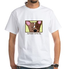 Anime Red Heeler White T-Shirt