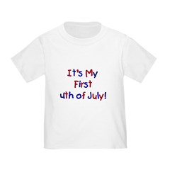First 4th of July Infant/Toddler T-Shirt