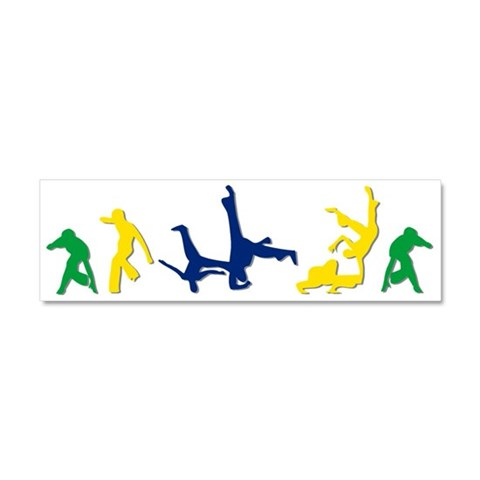 Capoeira  Sports Car Magnet 10 x 3 by CafePress