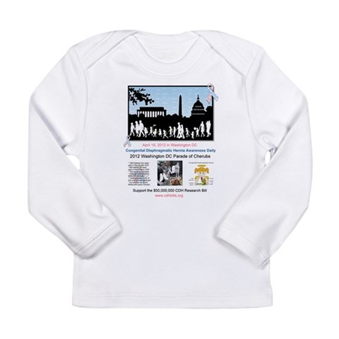 2012 Parade of Cherubs In Washington DC Long Sleev Health Long Sleeve Infant T-Shirt by CafePress