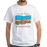 Israel Jews for Jerusalem White T-Shirt