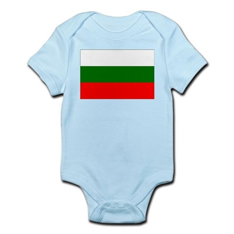 Bulgaria Infant Creeper Bulgaria Infant Bodysuit by CafePress