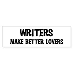 Writers: Better Lovers Sticker (Bumper)