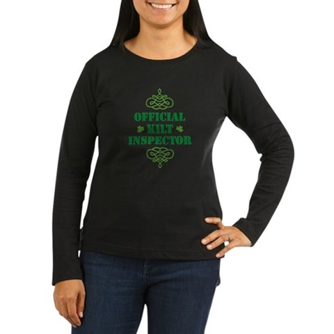 Product Image of official_kilt_inspector_light Long Sleeve T-Shirt