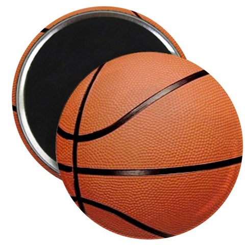 Basketball  Sports 2.25 Magnet 100 pack by CafePress
