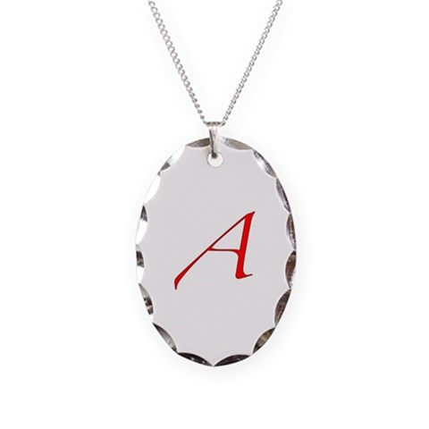 Atheist   Necklace Oval Charm by CafePress