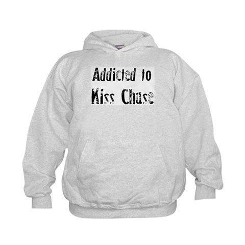 Addicted to Kiss Chase  Hobbies Kids Hoodie by CafePress