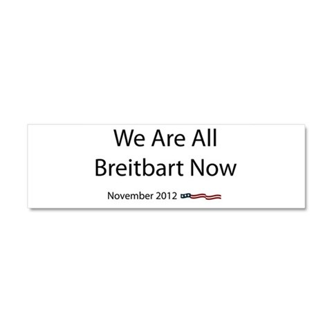 Breitbart  Political Car Magnet 10 x 3 by CafePress