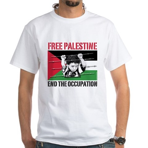Product Image of free palestine WHT T-Shirt