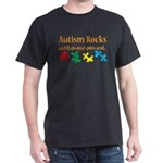 Autism Rocks... Dark T-Shirt