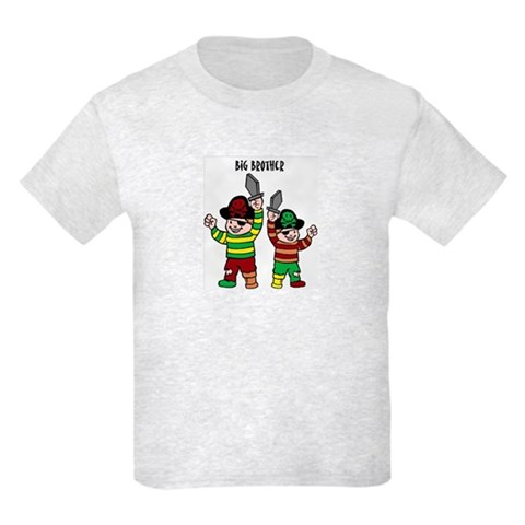 - big brother Funny Kids Light T-Shirt by CafePress