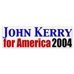 John Kerry for America Bumper Sticker