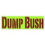 Dump Bush Bumpersticker