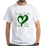 Personalize Back White T-Shirt