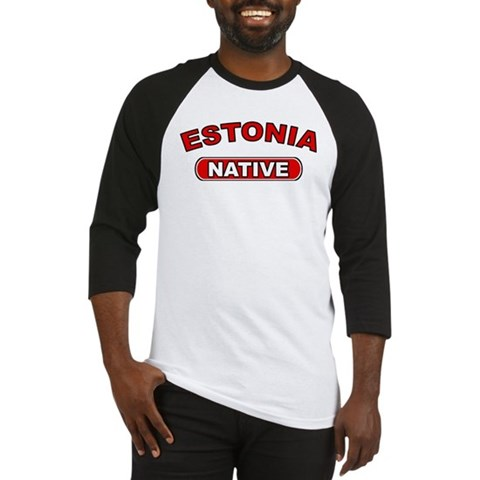 Estonia Native Estonia Baseball Jersey by CafePress