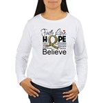 Faith Love Hope Autism Women's Long Sleeve T-Shirt