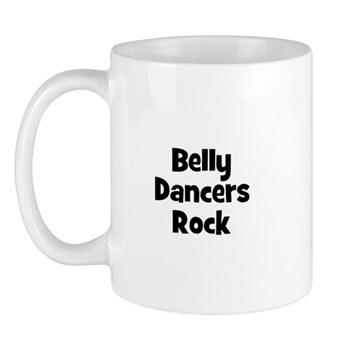 BELLY DANCERS  Rock Mug