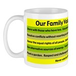 Our Family Values Mug