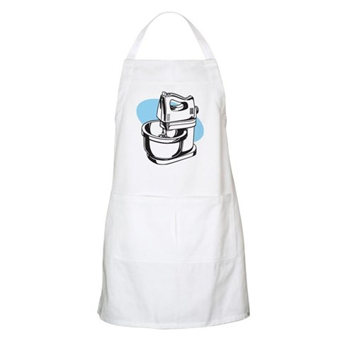 Pop Art - 'Food Mixer' BBQ Vintage Apron by CafePress