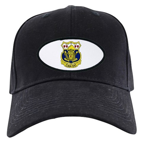 15th Infantry Regiment  Military Black Cap by CafePress