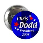 Ten Discount Chris Dodd for President Buttons