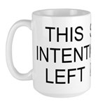 Intentionally Left Blank Large Mug