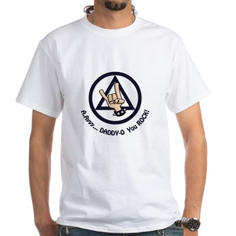 Product Image of AA Fathers Day - White T-Shirt