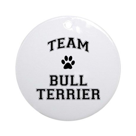 Team Bull Terrier Ornament