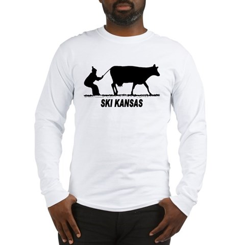 Product Image of Ski Kansas Long Sleeve T-Shirt