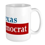 Texas Democrat Large Mug