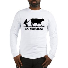 Ski Nebraska Long Sleeve T-Shirt