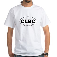 CLBC (Clearwater Beach) White T-Shirt