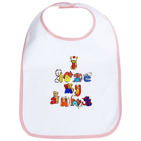 - I love my aunt Love Bib by CafePress
