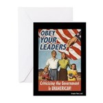 Homeland Insecurity Greeting Cards 6 pack