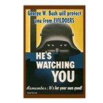 Bush is Watching You Postcards 8 pack