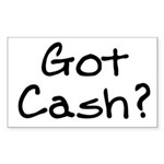 Got Cash funny Sticker