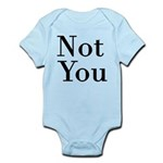 Unique Baby Clothing - Not you