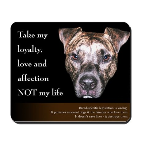 Take my loyalty... Mousepad