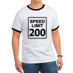 Speed Limit 200 MPH T-Shirts