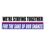 Pet Snakes Bumper Stickers