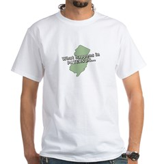 Paterson Zip Code 07501 White T-Shirt