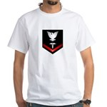 Navy PO3 Corpsman White T-Shirt