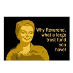 Why, Reverend... (8 Postcards)
