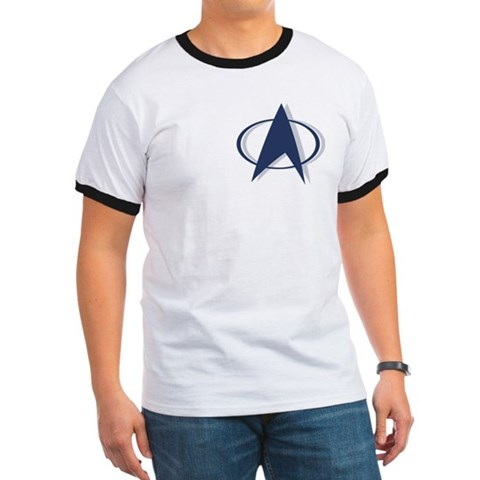 Trek Nation T-Shirt Ringer Movie Ringer T