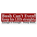 Enough is Enough Bumper Sticker